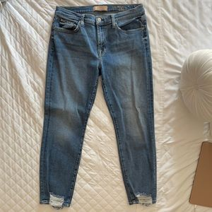 7 for all mankind- Roxanne ankle size 31